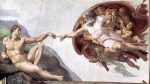 Michelangelo's 'Creation of Adam' paradox