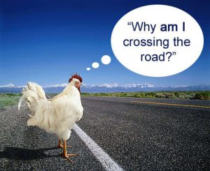 philosophy jokes part 3 why did the chicken cross the road